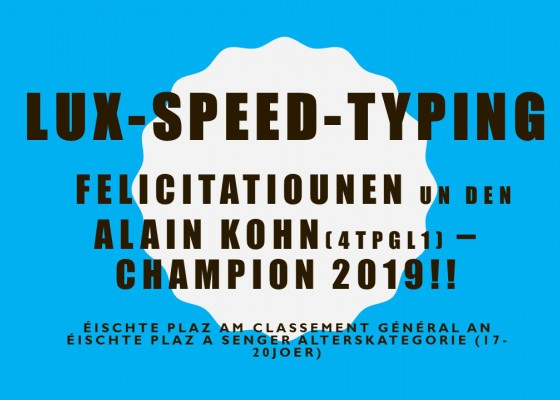 LUX-Speed-Typing